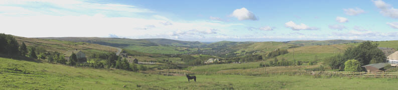Panoramic View over Saddleworth from Standedge Foot